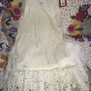 Cat & Jack Matching Sets - Sparkle outfit
